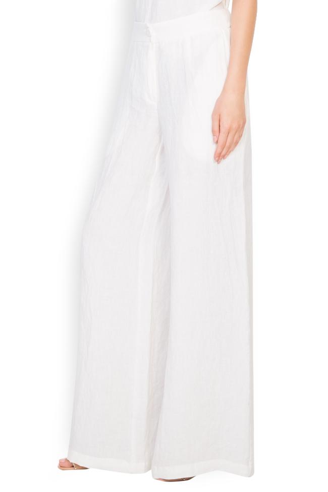 Pantalon en lin Romanitza by Romanita Iovan image 1