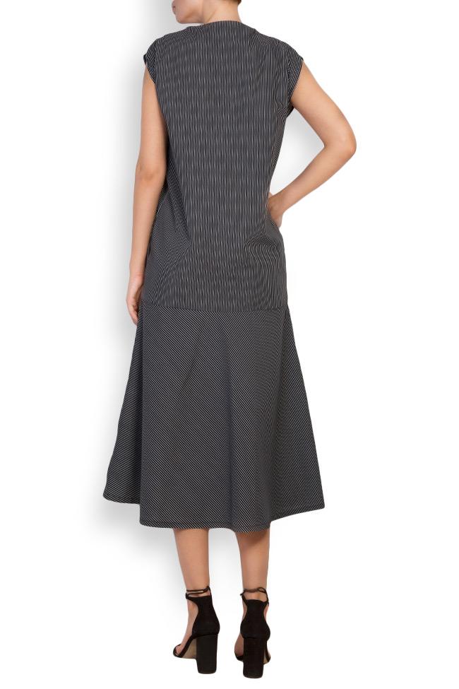 Robe en coton imprimé à rayures Undress image 2