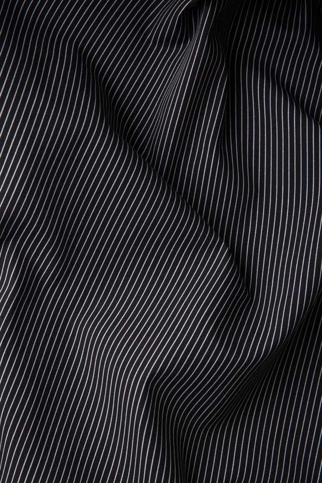 Robe en coton imprimé à rayures Undress image 5
