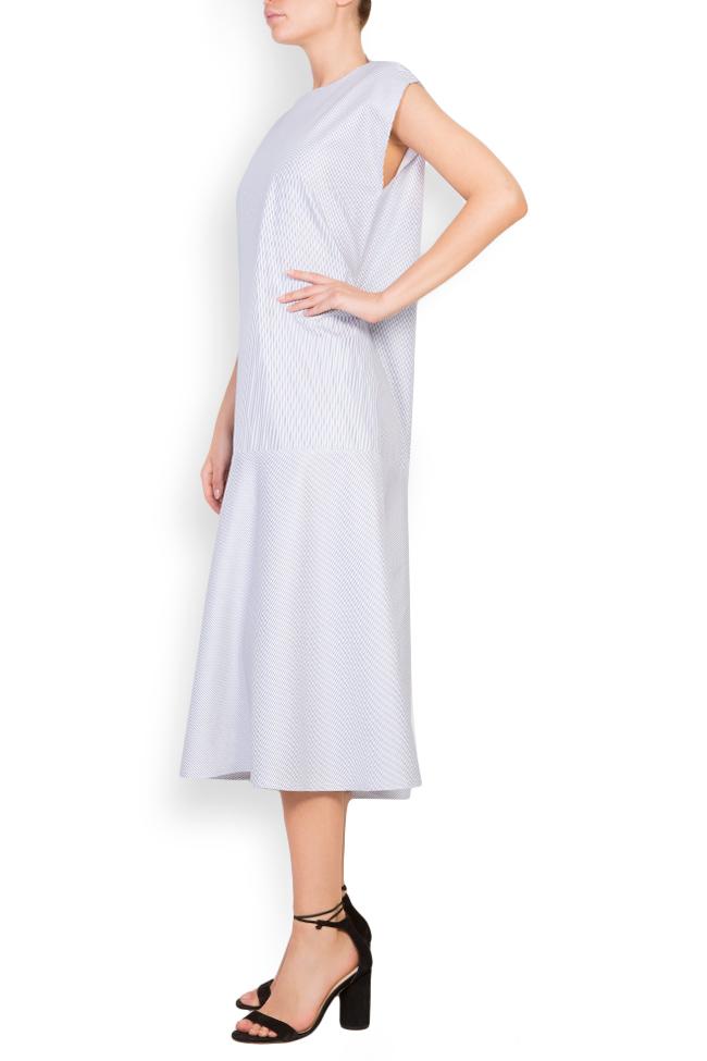 Rochie din amestec de bumbac Undress imagine 1