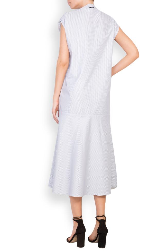 Rochie din amestec de bumbac Undress imagine 2