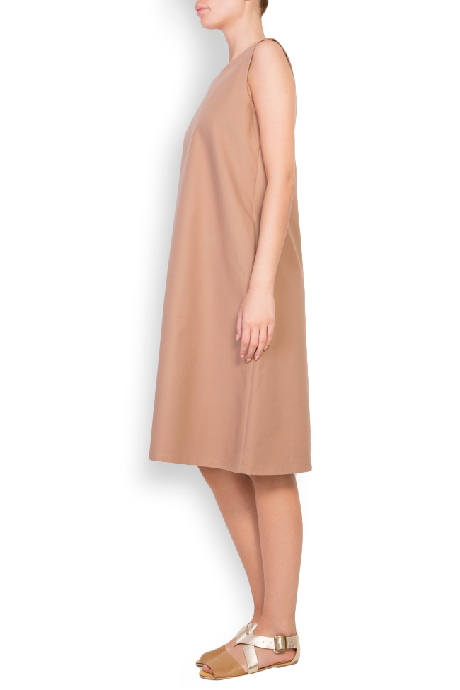 Open-back cotton midi dress Undress image 1