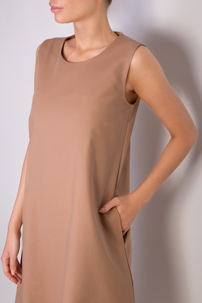 Open-back cotton midi dress Undress image 3