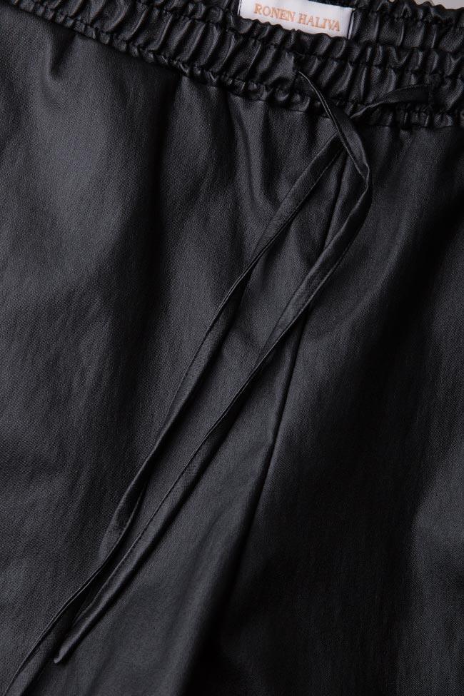 Short en coton enduit Ronen Haliva image 4