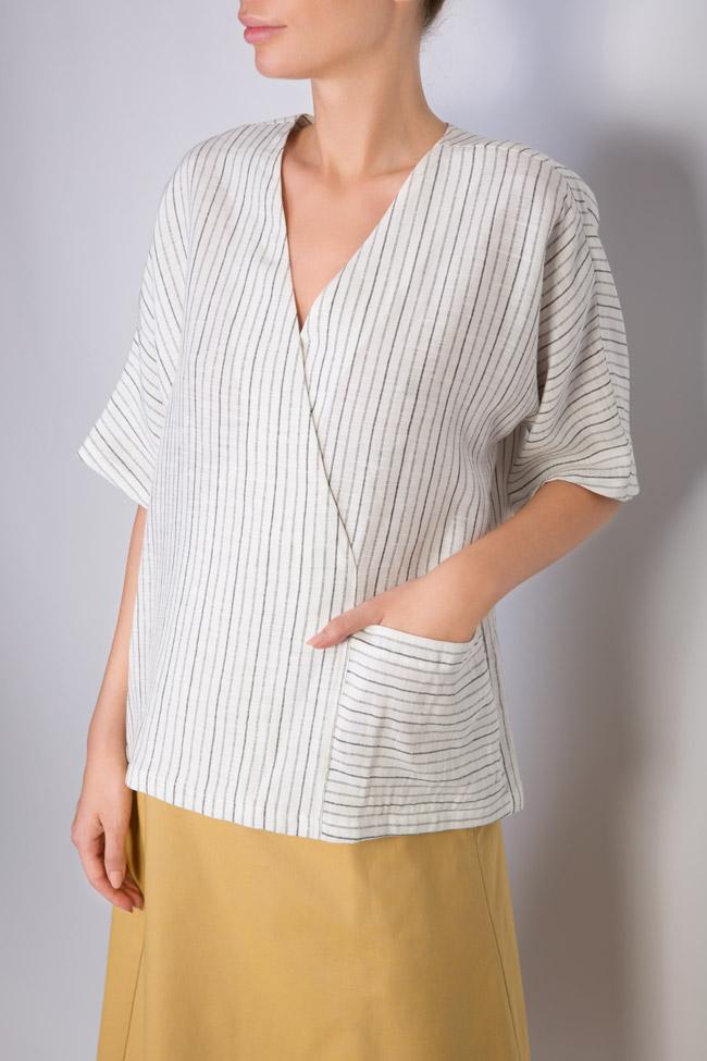 Linen blouse Undress image 3
