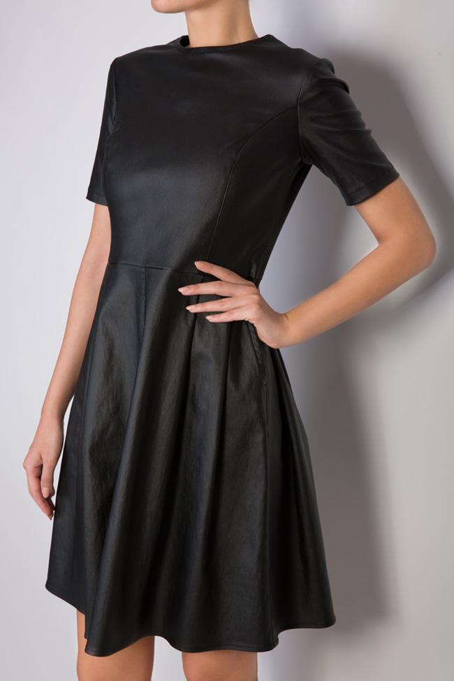 Robe mini en coton huilé Ronen Haliva image 3