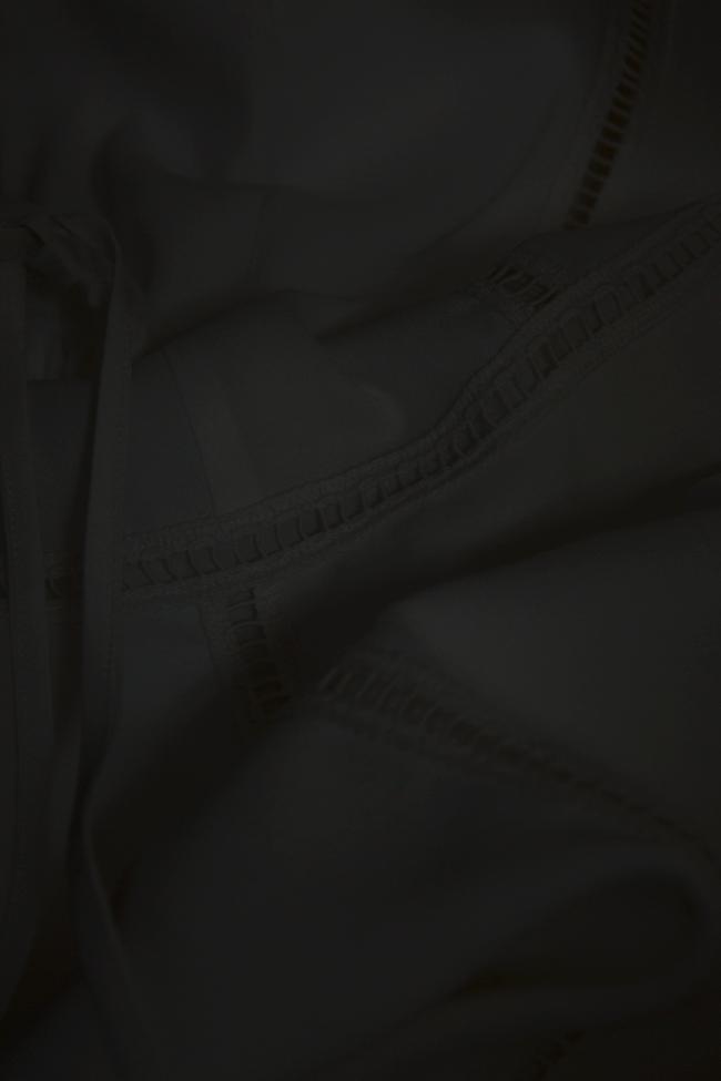 Robe mini en coton huilé Ronen Haliva image 4