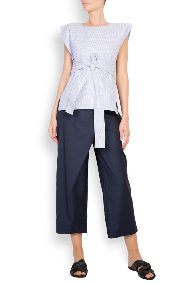 Bluza asimetrica din bumbac  Undress imagine 0