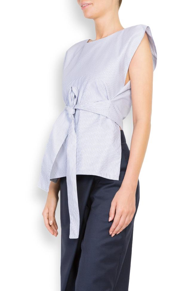 Bluza asimetrica din bumbac  Undress imagine 1