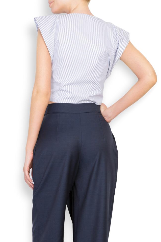 Bluza asimetrica din bumbac  Undress imagine 2