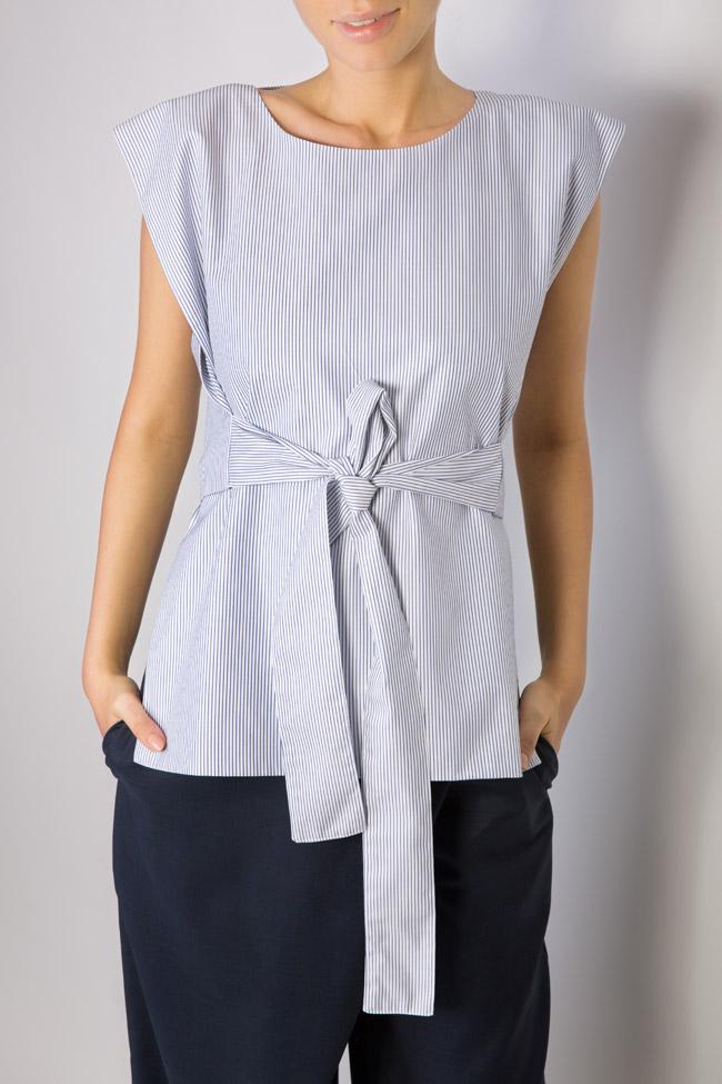 Bluza asimetrica din bumbac  Undress imagine 3