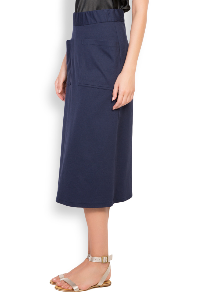 Cotton-blend jersey skirt Undress image 1
