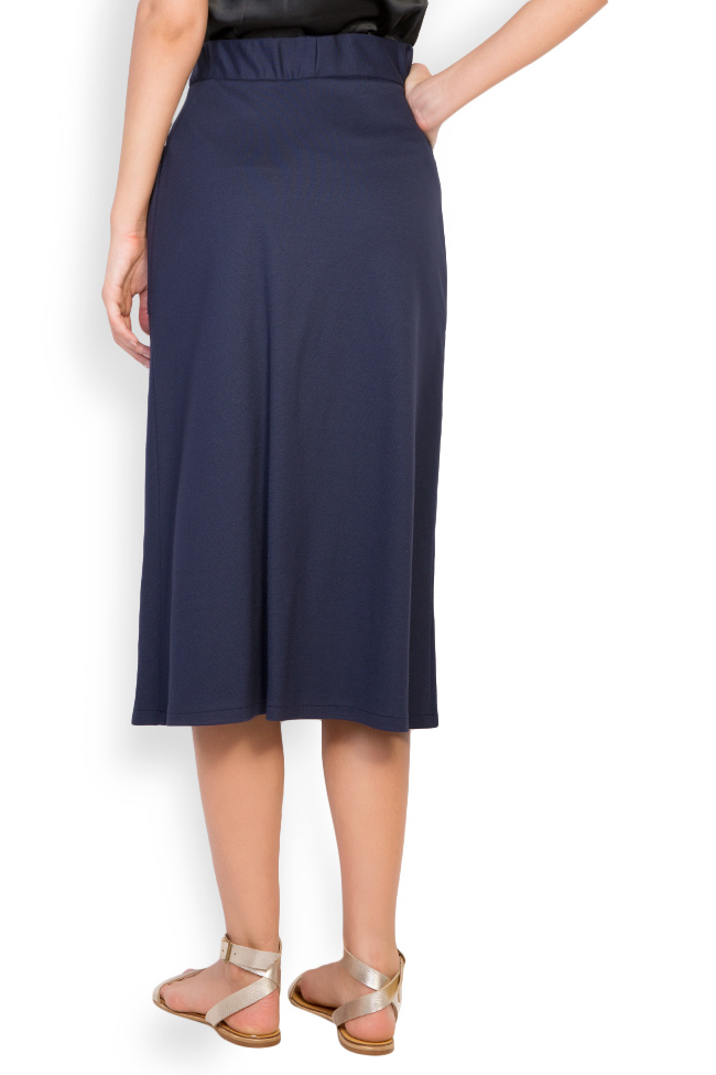 Cotton-blend jersey skirt Undress image 2