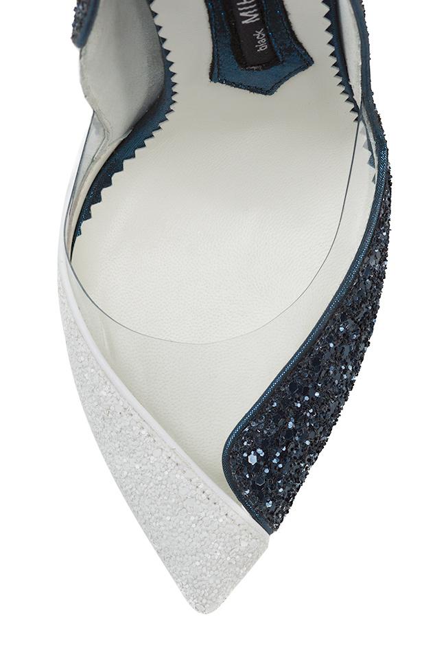 Chaussures en cuir avec paillettes et insertions de PVC Cruella Mihai Albu image 3