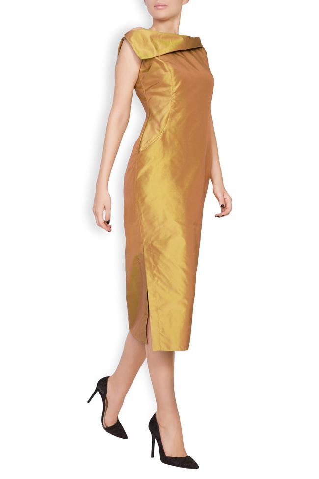 Helen silk taffeta midi dress DALB by Mihaela Dulgheru image 1