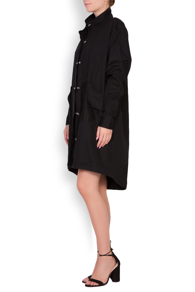 Caroline cotton shirt dress Shakara image 1
