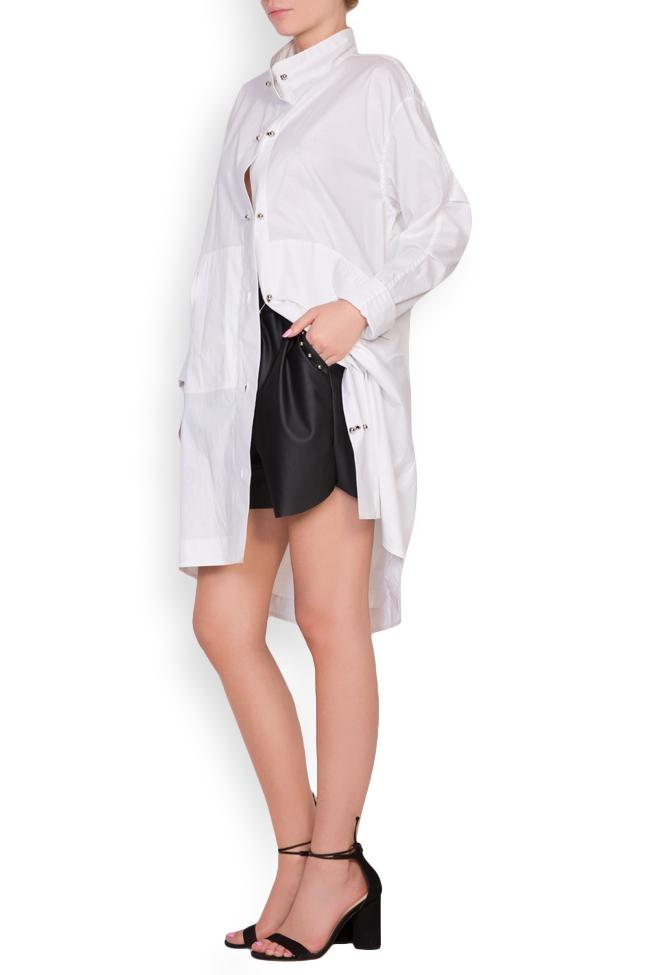 Caroline cotton shirt dress Shakara image 1