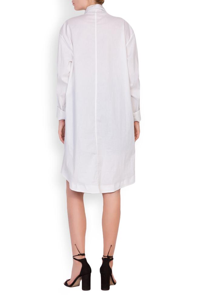 Caroline cotton shirt dress Shakara image 2