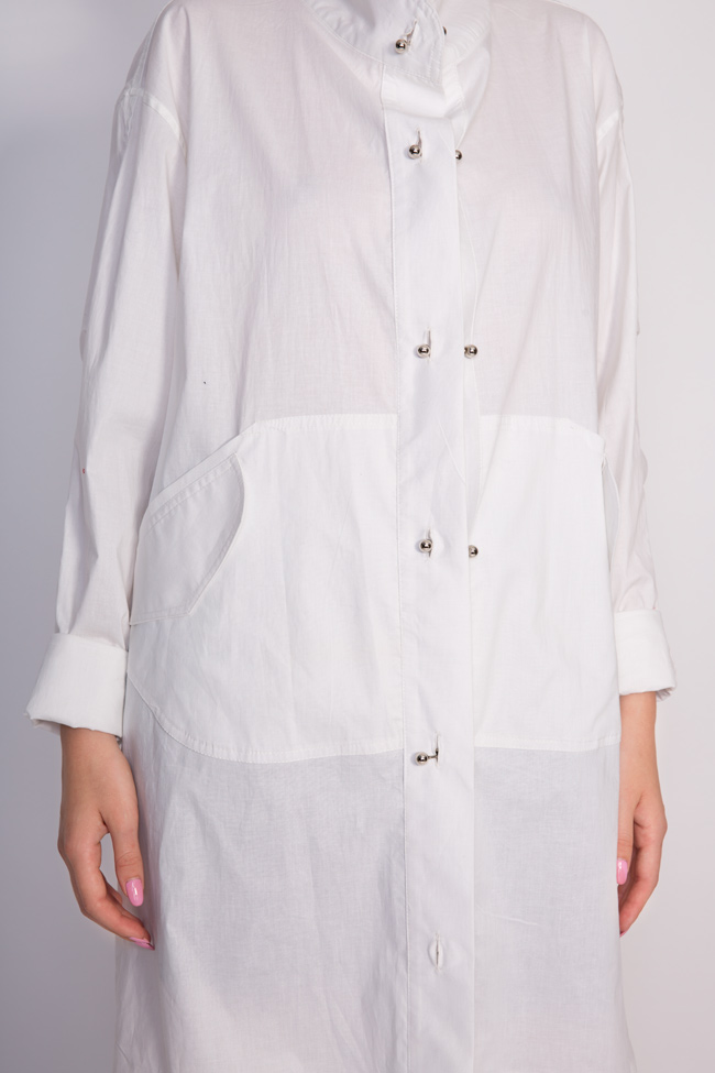 Caroline cotton shirt dress Shakara image 3