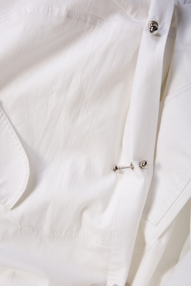Caroline cotton shirt dress Shakara image 4