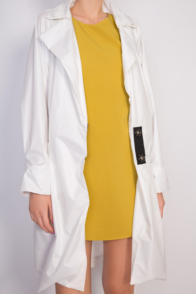 Addia shell trench coat Shakara image 3