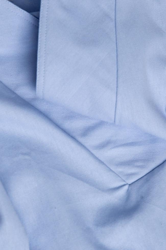 Robe en coton brodée avec fil de soie Maressia image 4