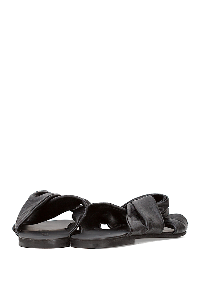 Leather slides Mihaela Gheorghe image 2