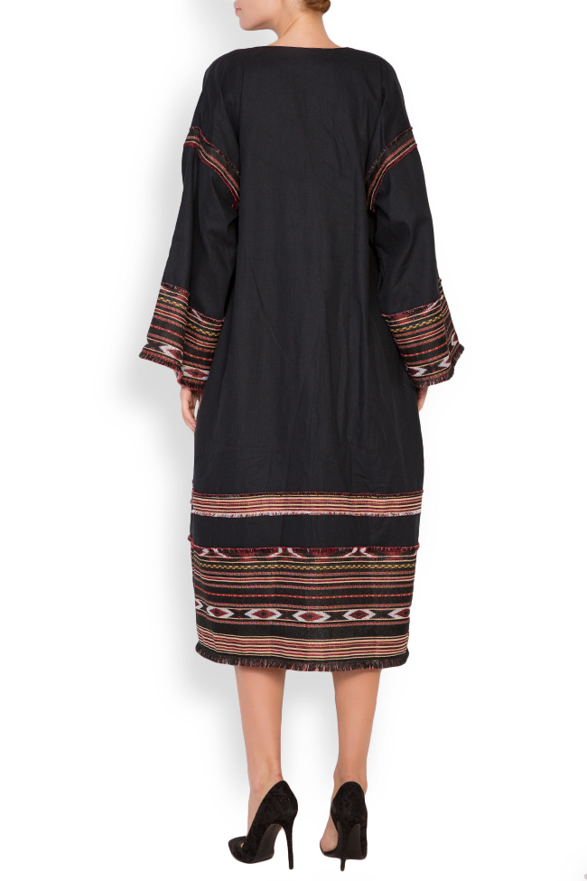 Embroidered cotton kaftan Maressia image 2