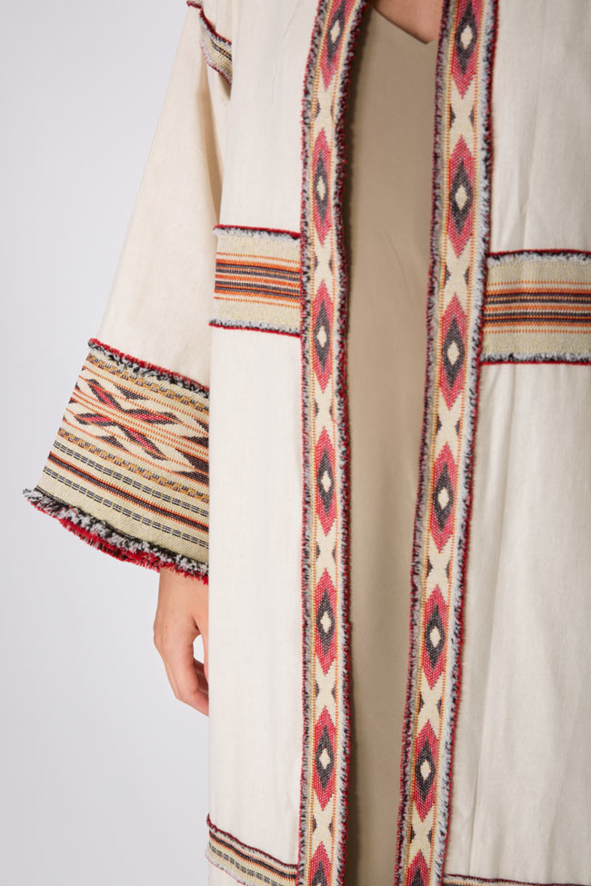 Embroidered cotton kaftan Maressia image 3