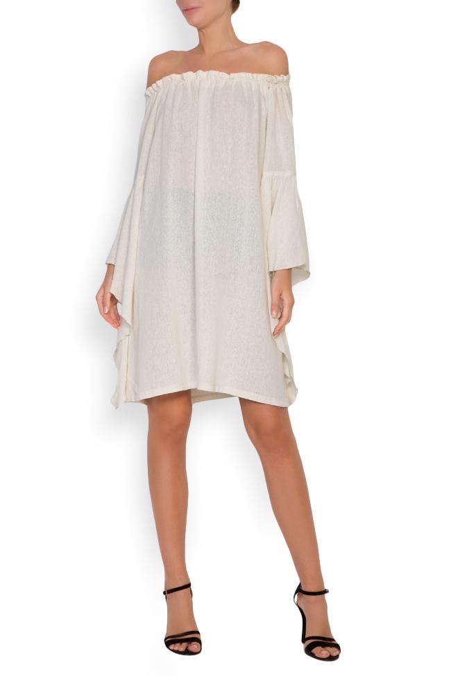 Robe en voile de coton avec les épaules dénudées Maressia image 0