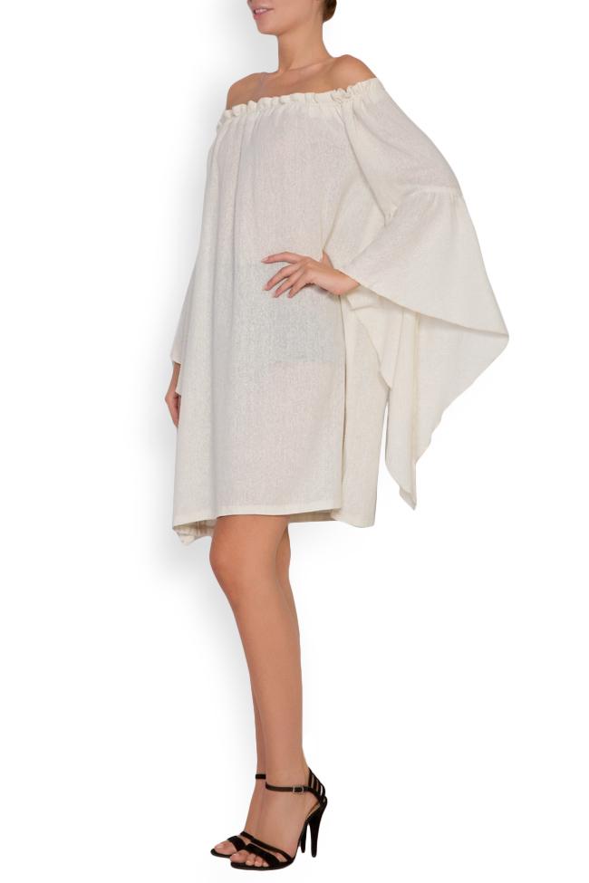 Robe en voile de coton avec les épaules dénudées Maressia image 1