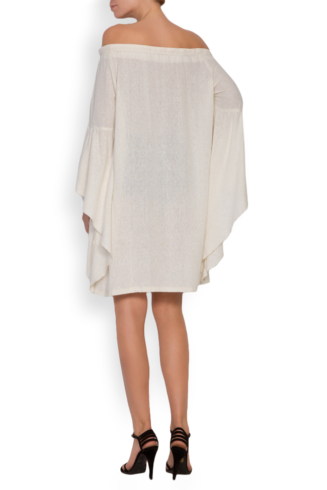 Robe en voile de coton avec les épaules dénudées Maressia image 2