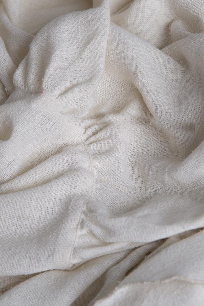 Robe en voile de coton avec les épaules dénudées Maressia image 4