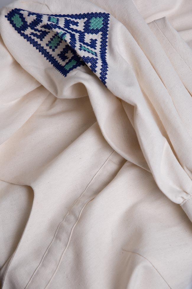 Blouse brodée en coton Maressia image 4