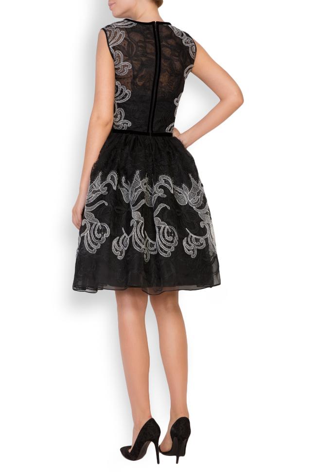 Calissa silk-organza lace maxi dress Cosmina Englizian image 2