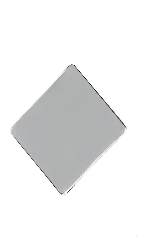 Cercei din argint Platitude Monom imagine 1