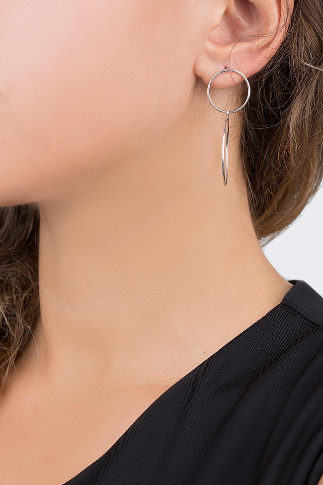 Boucles d'oreilles Plattitude Circles Monom image 3