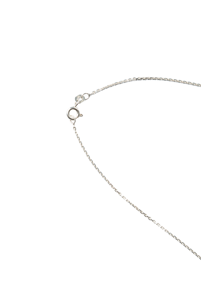Linia silver necklace Monom image 1