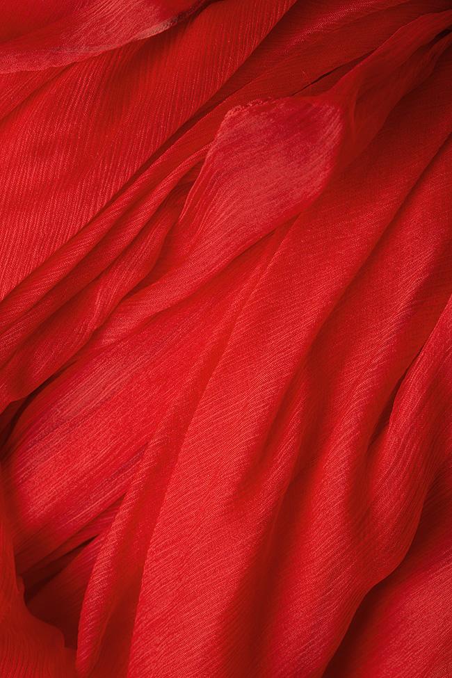 Serena silk-chiffon gown Manuri image 4