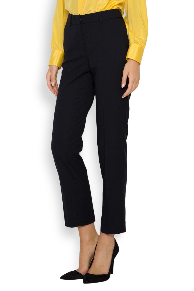 Wool tapered pants Acob a Porter image 1