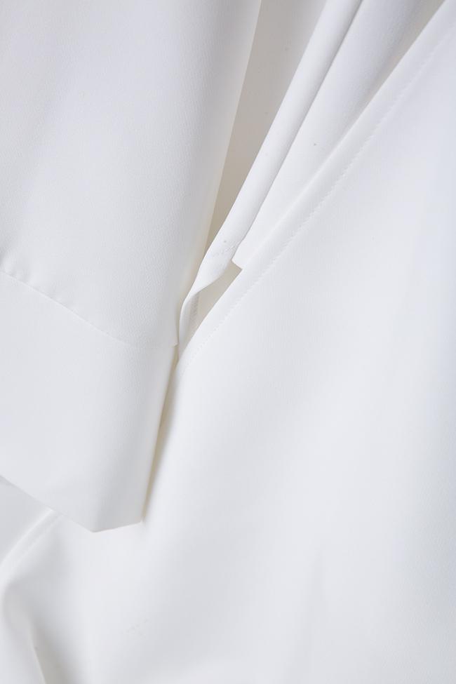 Pantalon en crêpe avec fentes latérales Palazzo Atelier Jaisse image 4