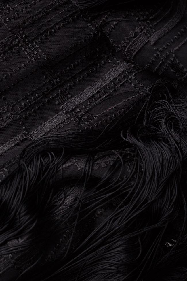 Robe en tulle avec des broderies et franges Kary Style Up image 4