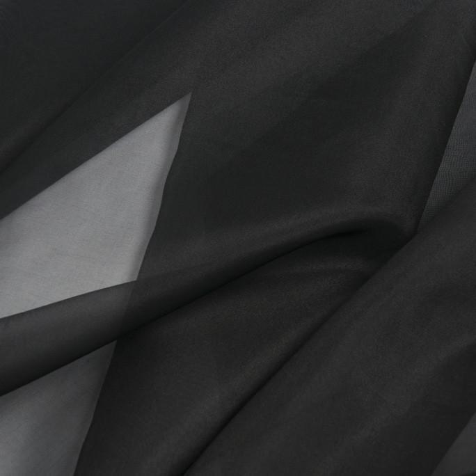 Pussy-bow silk-organza shirt LUWA image 4