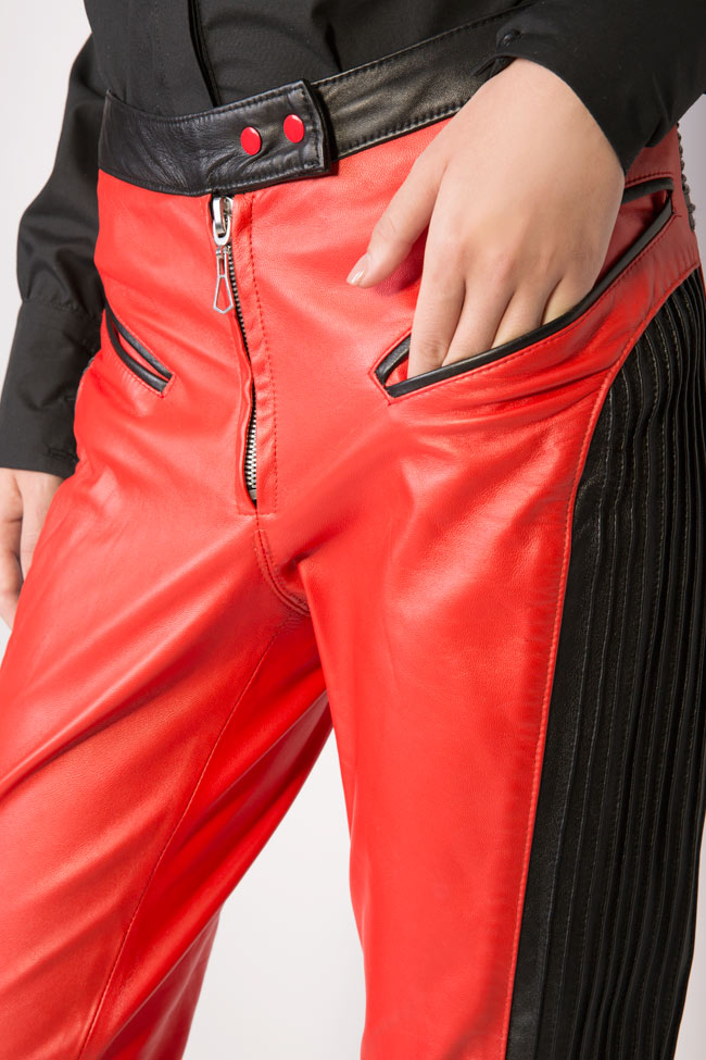 Leather pants LUWA image 3