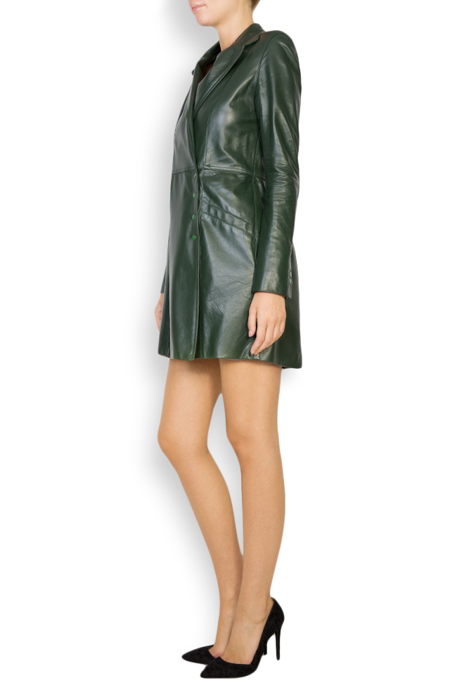 Leather mini dress LUWA image 1