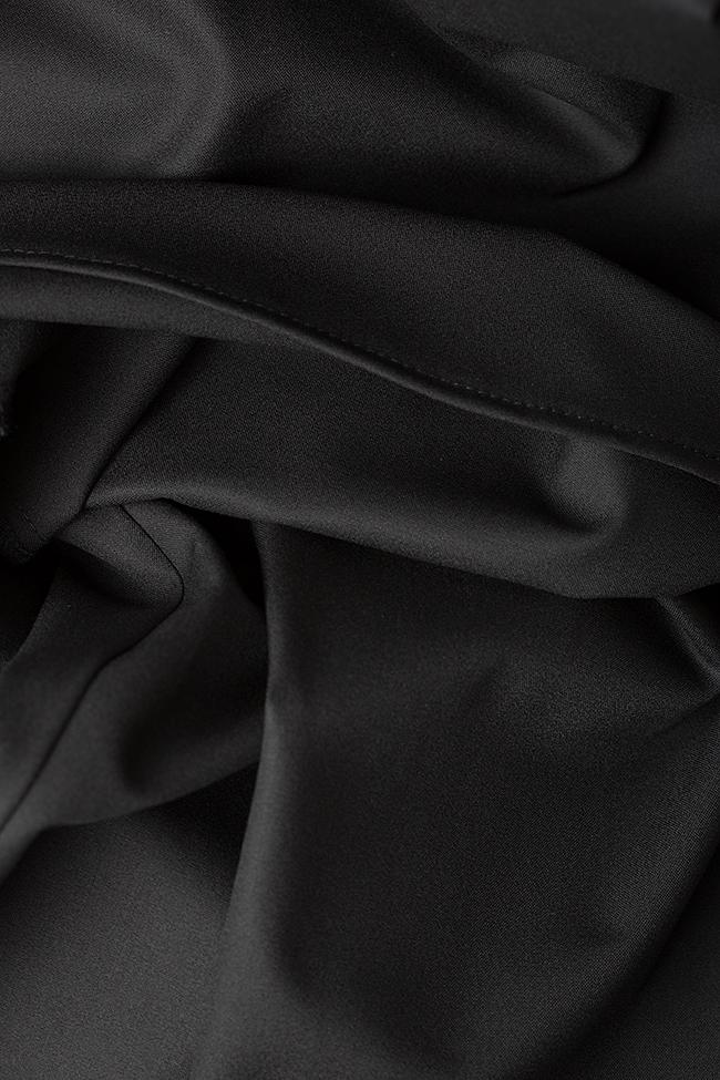 Pantalon large en crêpe avec plis Bluzat image 4