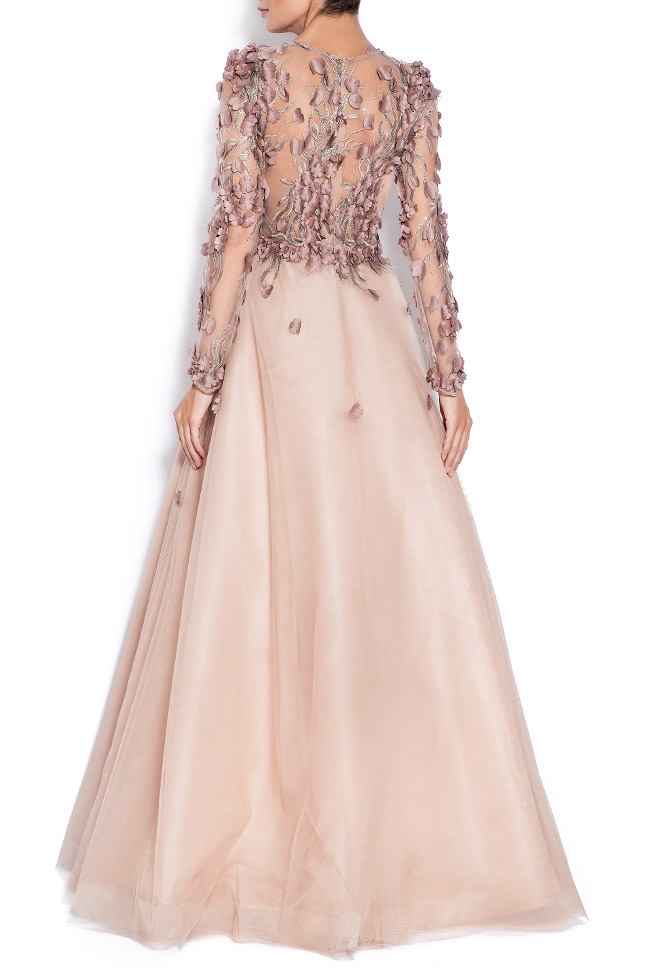 Embroidered tulle gown Bien Savvy image 2