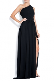 Bien Savvy Rochie din matase Magic Black