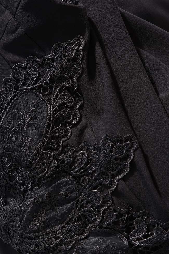Robe en tulle à dos nu brodée de dentelle MoonShine Bien Savvy image 4