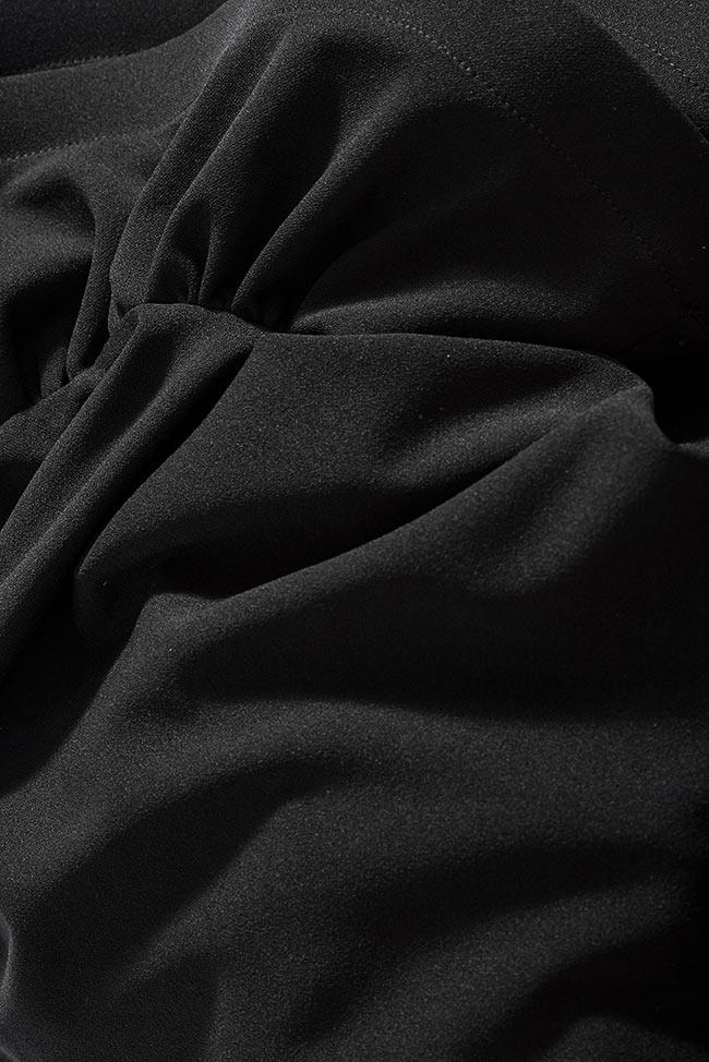 Aida one-shoulder ruffled crepe mini dress Love Love  image 4